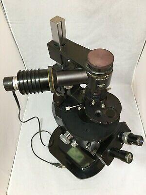 Wild Heerbrugg M40-81352 Binocular Inverted Microscope W Sixtuple Turret Very