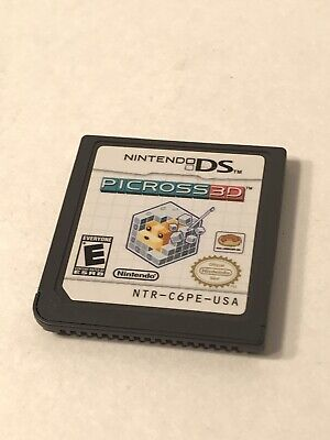 Nintendo DS Picross 3D Game