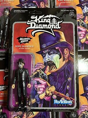 Heavy Metal Band KING DIAMOND Top Hat Super7 ReAction Action Figure