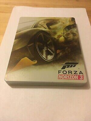 FORZA HORIZON 3 STEELBOOK XBOX ONE GAME NICE