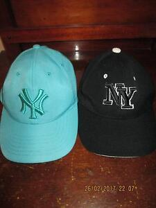 NEW YORK YANKEEE   CAPS   childrens  size Para Hills Salisbury Area Preview