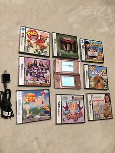 Nintendo ds gameboy bundle with games