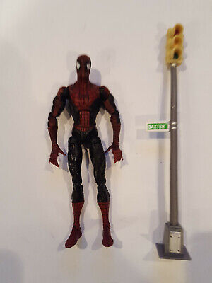 2008 Hasbro Marvel Legends McFarlane Super Poseable Spider-Man Dark Version