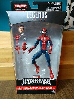 """Marvel Legends 6"""" Spider-Man - Ultimate Spider-Man Peter Parker - No BAF"""