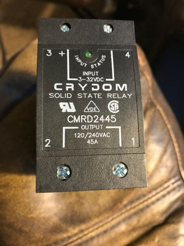Crydom CMRD2445 Solid State Relay 120/240V 45A 3-32VDC New Old Stock.