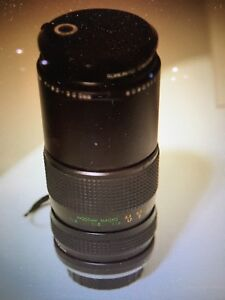 80-200 macro and 50 mm lenses with filters - SONY