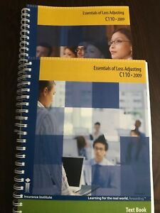 C110 essentials of loss adjusting 2009