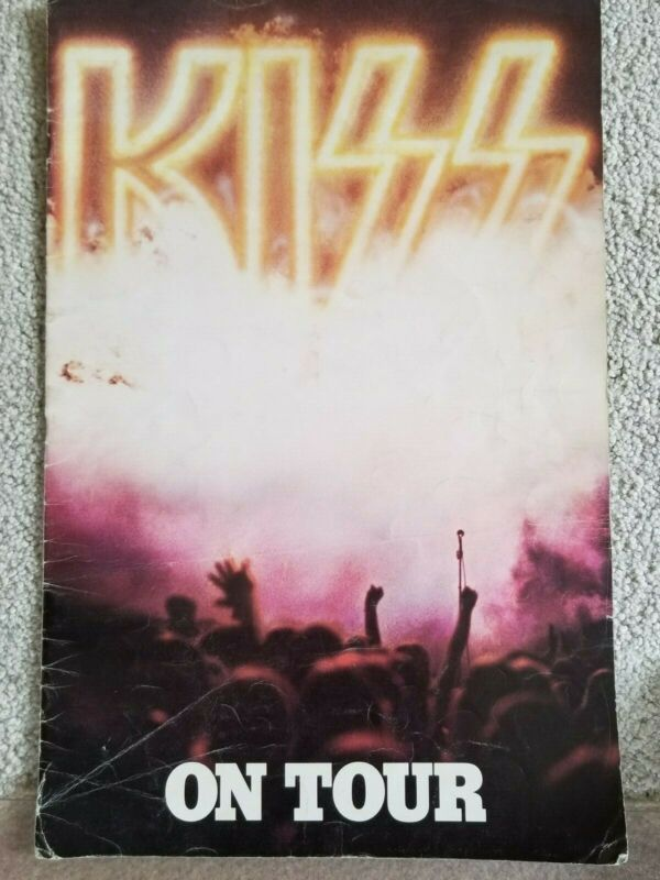 VINTAGE KISS 1976 TOURBOOK DESTROYER (RARE)
