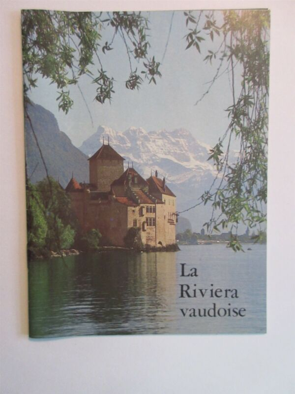 vintage La Riviera vaudoise booklet in French