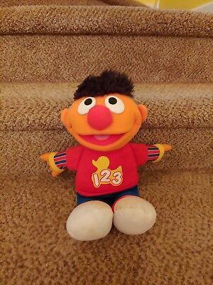 Ernie Rockin Numbers Sesame Street plush doll toys