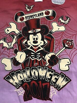 Disney Halloween 2017 Disneyland Mickey Medium Tie Dye NWT (Disneyland Mickey Halloween)