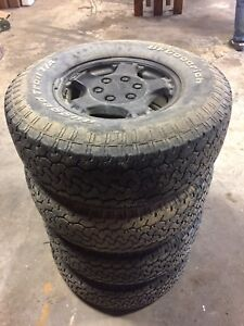 Gmc/Chevy 1500 rims and tires