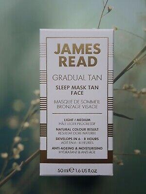 James Read Gradual Tan Sleep Mask Tan Face, Light/ Medium, 50ml
