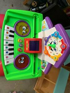 Fisher price learning piano desk