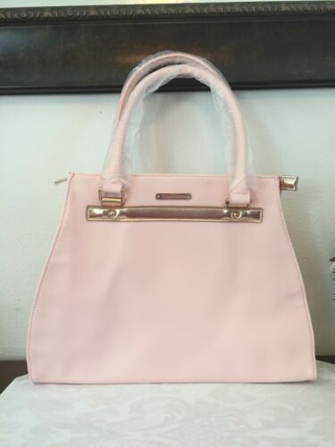 JUICY COUTURE for Women Pink & Gold Tote Shopping Bag Large