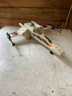 Vintage Star Wars X-Wing Battle Damaged Complete 1980's Original