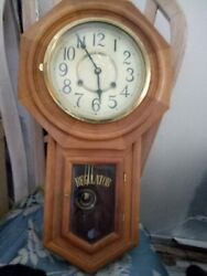 Antique Regulator Wall Clock