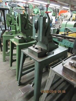 Ruesch Type 7-ton Heavy Duty Foot Stamping Kick Press Model 7