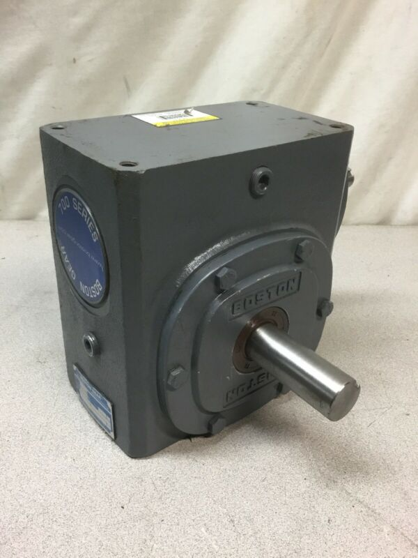 NEW NO BOX Boston 726-30-G Right Angle Worm Gear Speed Reducer, 30:1 Ratio