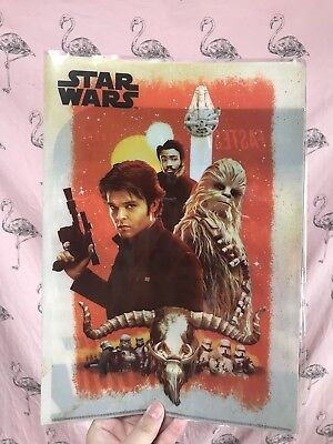 STAR WARS han solo story Japan limited 2 pocket clear folder file movie