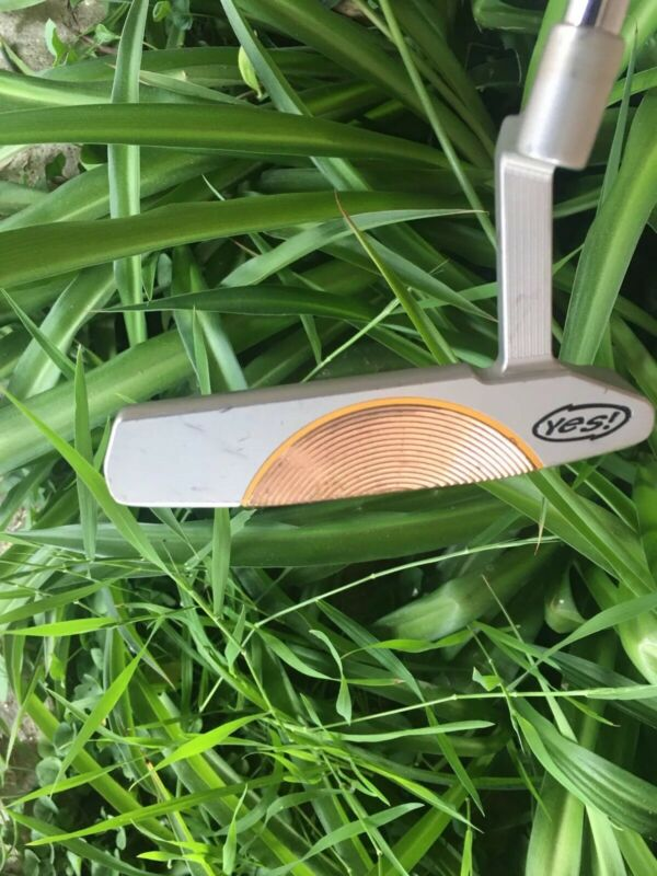 Very Rare Tour Issue YES C-groove Putter. Dawn-12m. Rare Bronze Insert