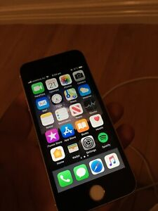 Iphone 5s 16gb gold/black