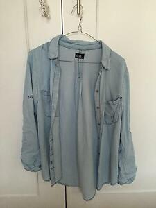 Pale Blue Top (Size 6) Killarney Heights Warringah Area Preview
