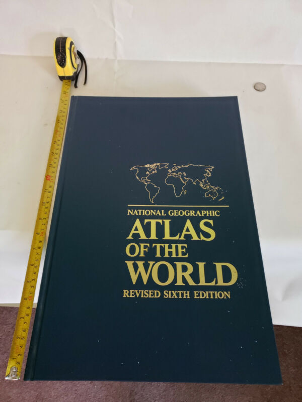 National Geographic Atlas of the World - Huge 18 x 12 in Book
