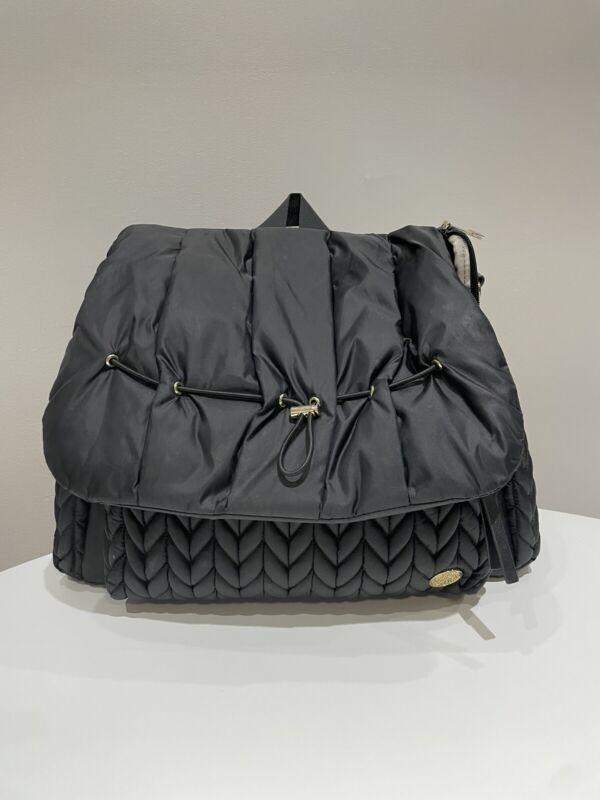 Happ Brand Levy Black Nylon Diaper Bag/Backpack - Great Condition