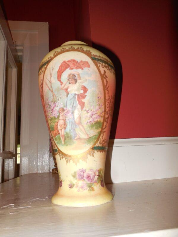 Pompadour Tapestry Vase Very  beauty!
