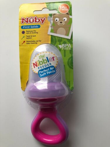 NUBY FIRST SOLIDS THE NIBBLER FREEDER