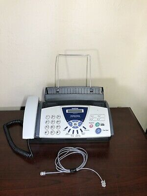 Brother Fax-575 Personal Plain Paper Fax Phone And Copier Machine Office Tested