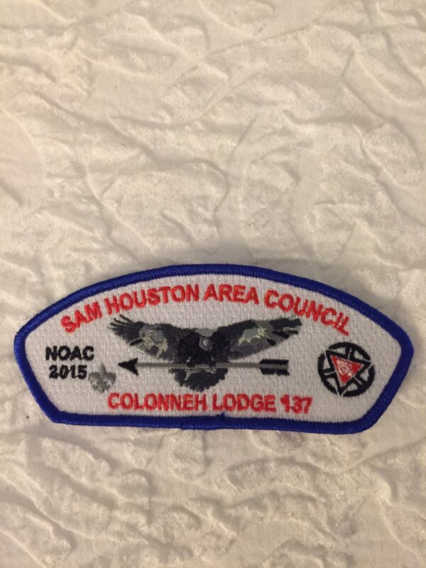 Mint 2015 NOAC CSP Sam Houston Area Council Lodge 137 Colonneh SA-76