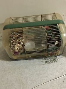 Free panda hamster and cage