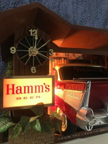HAMMS BEER SIGN