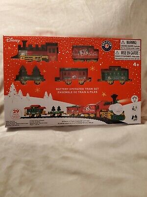Disney Mickey Mouse Christmas Train Set