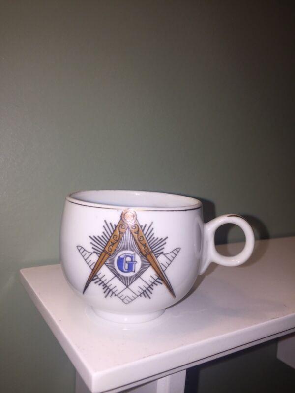 VINTAGE Mason Masonic Collectible Miniature Tea Cup Demitasse Japan