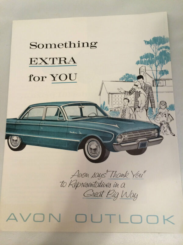 """RARE!! Vintage AVON """"Outlook"""" Magazine C11, 1961 - MINT CONDITION!"""