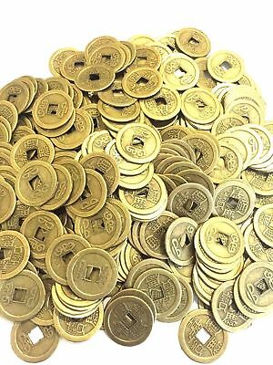 500 LOT FENG SHUI COINS 2.5CM LUCKY FORTUNE COINS CHING MONEY