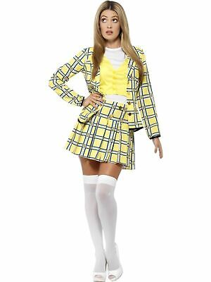 Cher Clueless Ladies Womens Fancy Dress Costume Hen Party Outfit