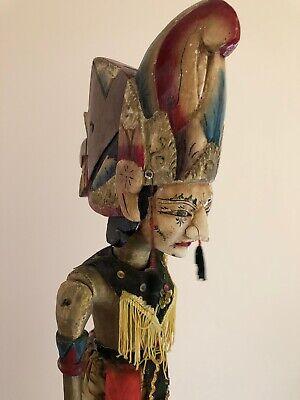 Antique handmade Thai / Indonesian stick Puppet.