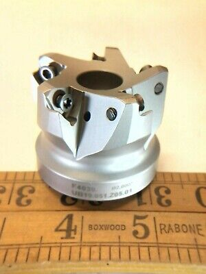 New Walter High Speed Face Milling Cutter Coolant Through F4030.ub19.051.z05.01
