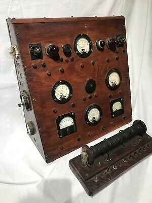 Electrical Volt Amp Tester Meter Antique