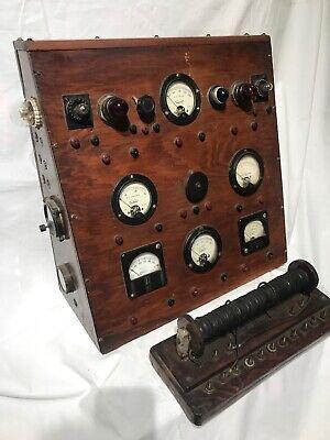 Electrical Volt Amp Tester Meter Antique