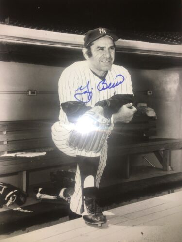 Yogi Berra Signed 8x10 Photo Photograph Autographed New York Yankees