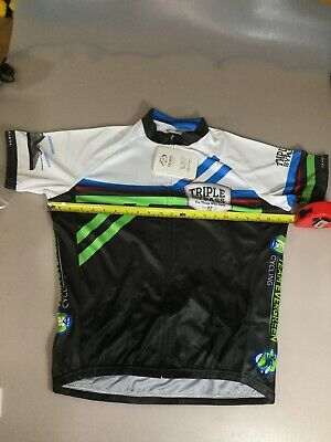 6910-B Primal Womens Sport Cut Raglan Cycling Jersey 2XL XXL