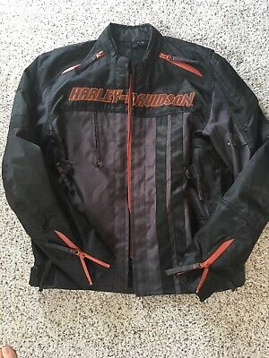Men's authentic Riding Gear Harley Davidson Riding Jacket Size M NWOT