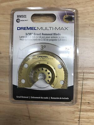 Dremel Mm501 Grout Removal Blade 116 Multi Max  Lot Of 2