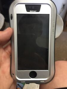 Aluminum iPhone 5s and SE case
