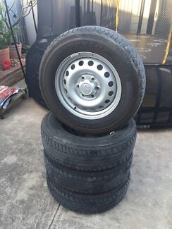 Toyota hilux SR rims and tyres Lockleys West Torrens Area Preview
